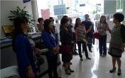 雨城区侨联代表参加全区统战系统调研 依法治区工作