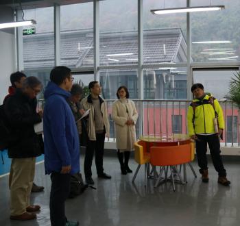 四川省学校安全教育与管理研究中心一行来雅参访交流