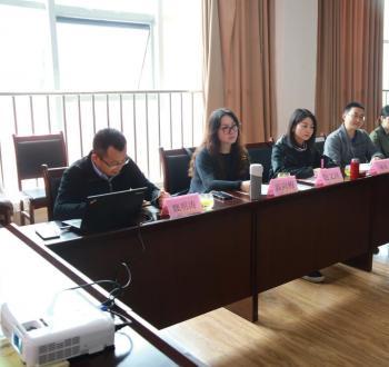 北京接力公益基金会参访市群团中心