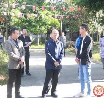 市委常委王加良调研名山区社会组织