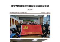 社会服务项目活动风采集锦第一百九十九期